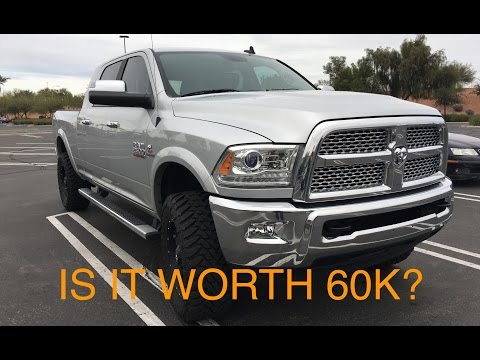 2015 Ram 2500 Cummins Laramie Review - Is it Worth 60K?