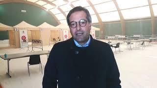Il Sindaco di Bisceglie Angelantonio Angarano annuncia l'avvio delle vaccinazioni