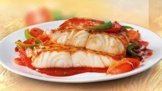 Рыба в томатной подливе.