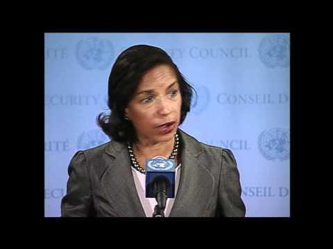WorldLeadersTV: SYRIA CRISIS: U.N. SECURITY COUNCIL MEETS: US Amb. SUSAN E. RICE: 10 April 2012