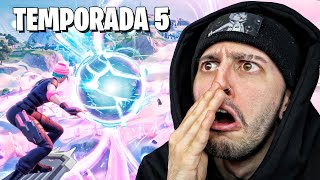 REACCIONANDO A LA TEMPORADA 5 DE FORTNITE | Robleis