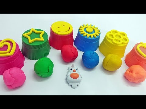 How To Make Love & Symbols |Toys Kids Video Learn Colors| Kids Clay Making Videos