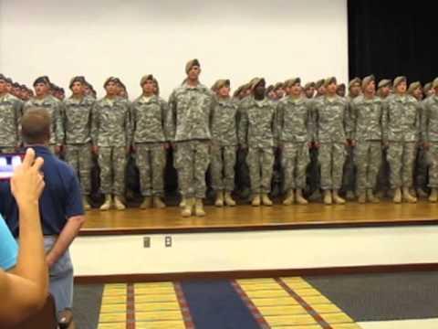 Ranger Creed At RASP Graduation