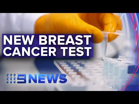 Simple blood test could identify early signs of breast cancer | Nine News Australia