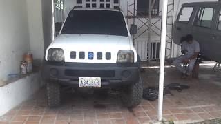 Suzuki jimny gearbox oil seal replacement - cambio de estopera de caja
