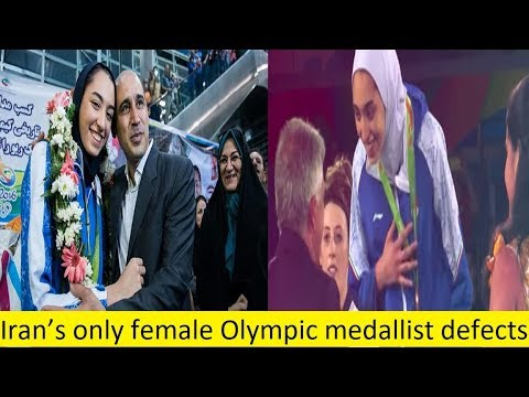 Iran's only female Olympic medallist defects