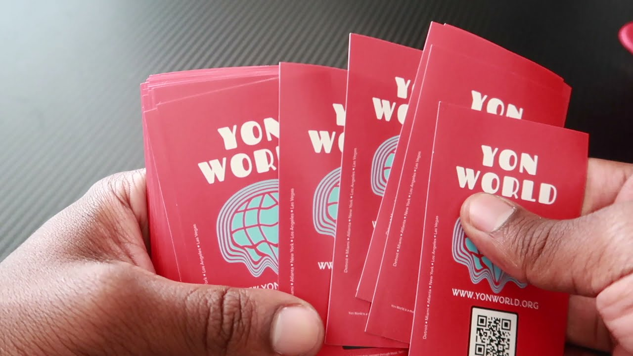 Yon World QR Code Sticker • Digital Marketing Secrets 📲💰