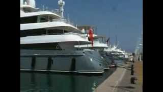 Yachts in Antibes France