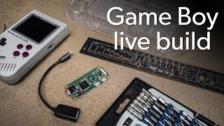 Gambar cover Watch us build our own Game Boy live!