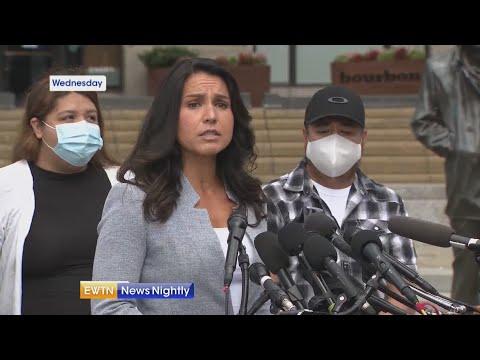 Congresswoman Gabbard (D-HI) tells family of missing soldier justice will be served   EWTN News