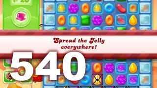 Candy Crush Jelly Saga Level 540 (No boosters)