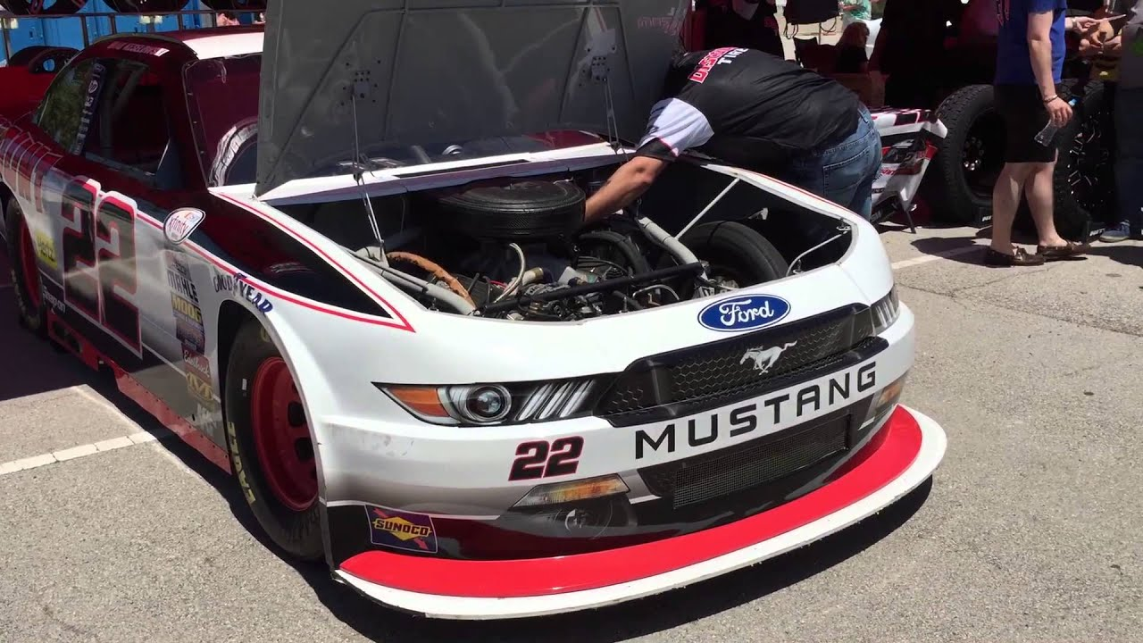 Discount Tire Nascar >> Discount Tire 2015 Mustang NASCAR Exhaust Sound! - YouTube