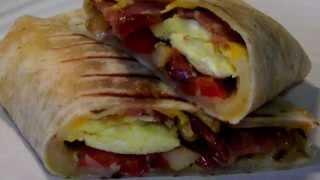 Breakfast Burritos - Made with Aldi Gluten Free Wraps