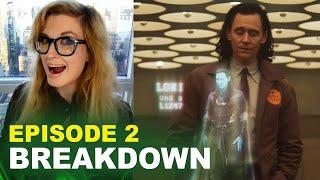 Loki Episode 2 BREAKDOWN! Spoilers! Easter Eggs & Ending Explained!
