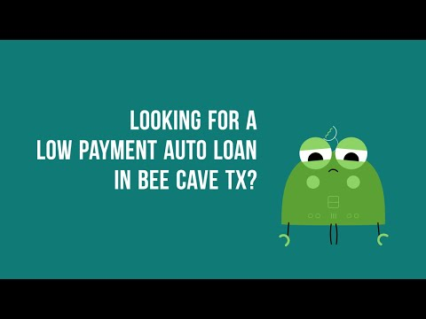 Zero Down Auto Financing in Bee Cave TX Bad Credit or Good Credit