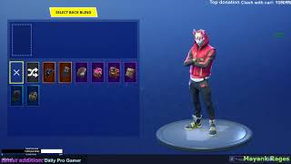 How to remove Back Bling or select default skin in Fortnite Season 5 // Giveaway Started