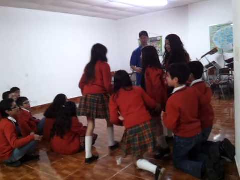 Colombia Wallball at Cambridge School in Pamplona, Norte de Santander.  The #1 school in Colombia.