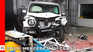 2019 Mercedes G-Class G500 G550 G63 Crash Test and Safety Features