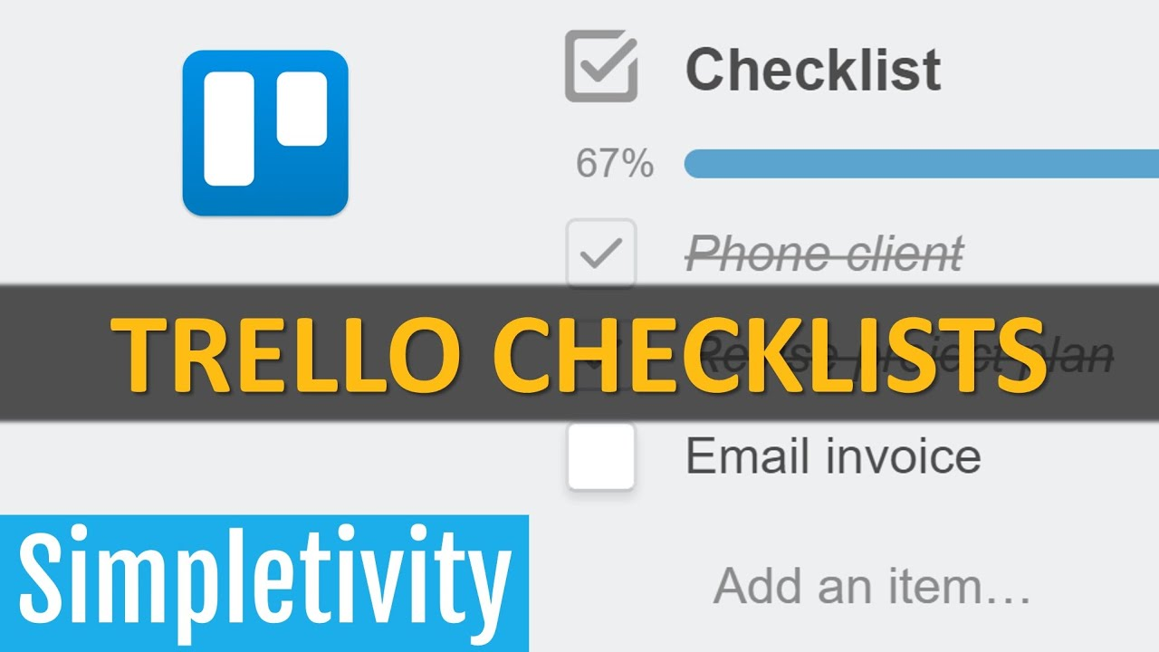 How to Use Checklists Effectively in Trello