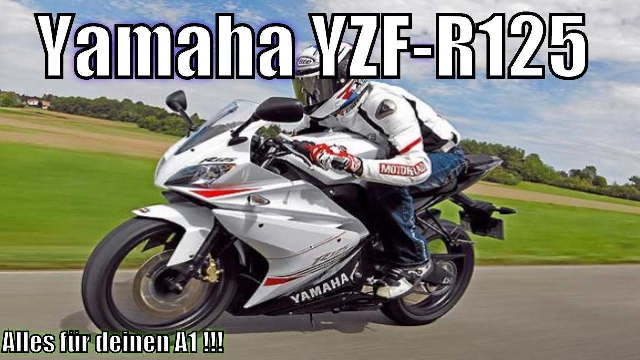 yamaha yzf r125 125ccm de hd youtube. Black Bedroom Furniture Sets. Home Design Ideas