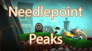 LittleBigPlanet 3 - 100% Walkthrough Needlepoint Peak LBP3 (60fps)
