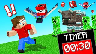 Minecraft But CHAOS Happens EVERY 30 SECONDS!