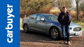 Infiniti Q50 saloon 2014 review - Carbuyer