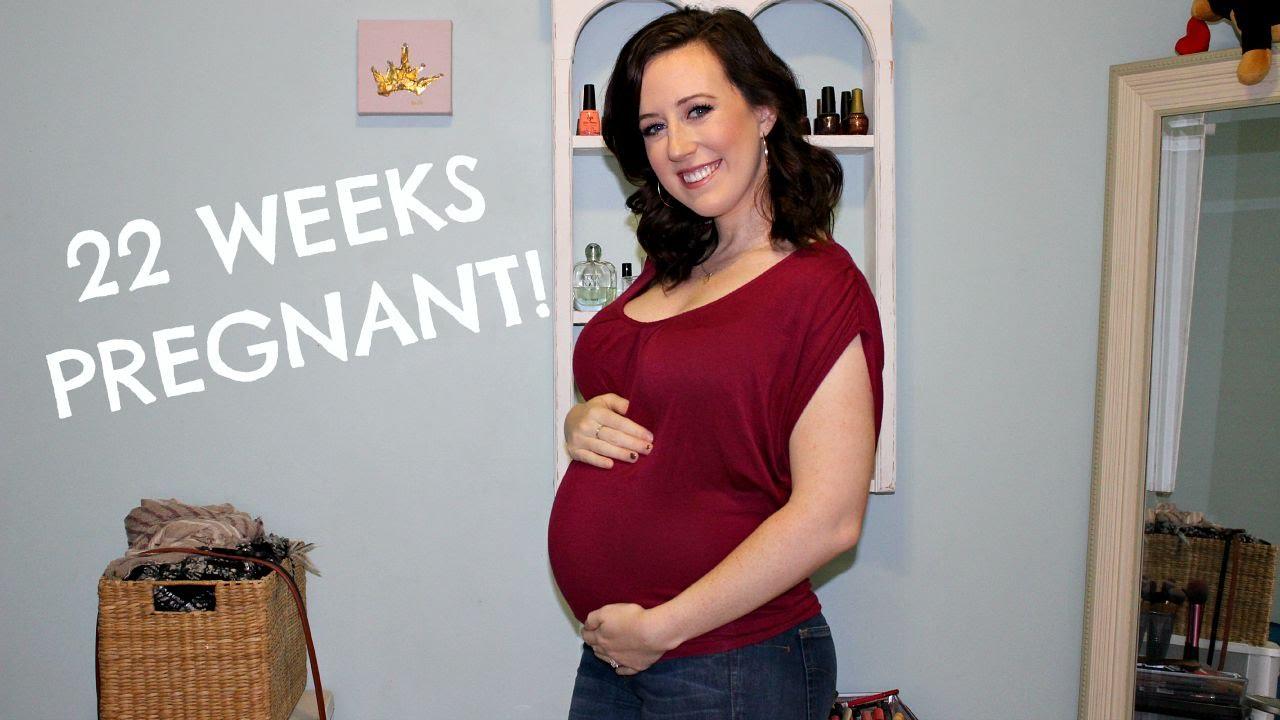 22 WEEK PREGNANCY VLOG! (weight gain, diastasis recti, & belly shot) -  YouTube