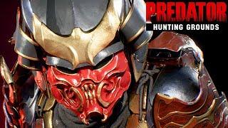 Predator Hunting Grounds Gameplay German - Samurai Predator