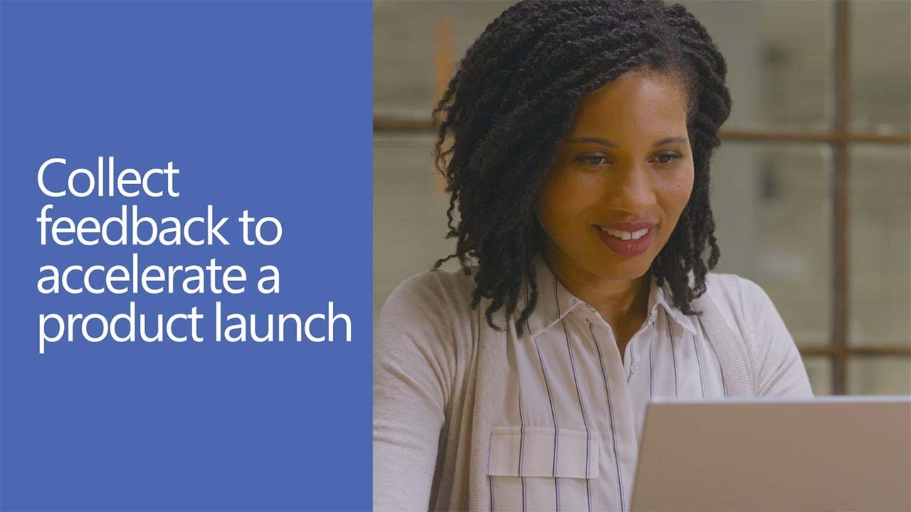 Collect feedback to accelerate a product launch with Yammer