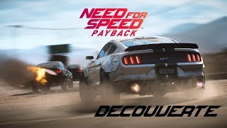 Découverte : Need For Speed Payback