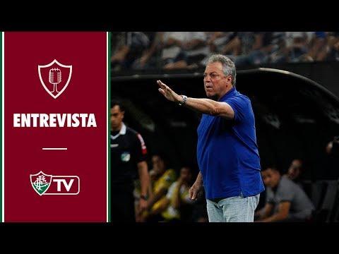 FluTV - Corinthians 3 x 1 Fluminense - Coletiva - Abel Braga