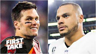 Dak Prescott or Tom Brady: Which QB is under more pressure?   First Take