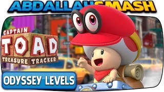 Captain Toad: Treasure Tracker [Nintendo Switch] - All Super Mario Odyssey Levels!  🔴LIVE!