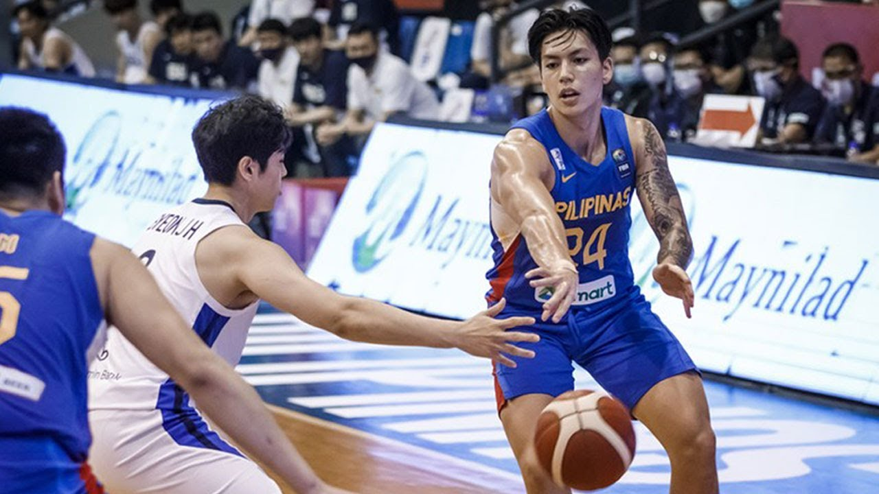 Download Highlights: Philippines vs South Korea | FIBA Asia Cup 2021 Qualifiers
