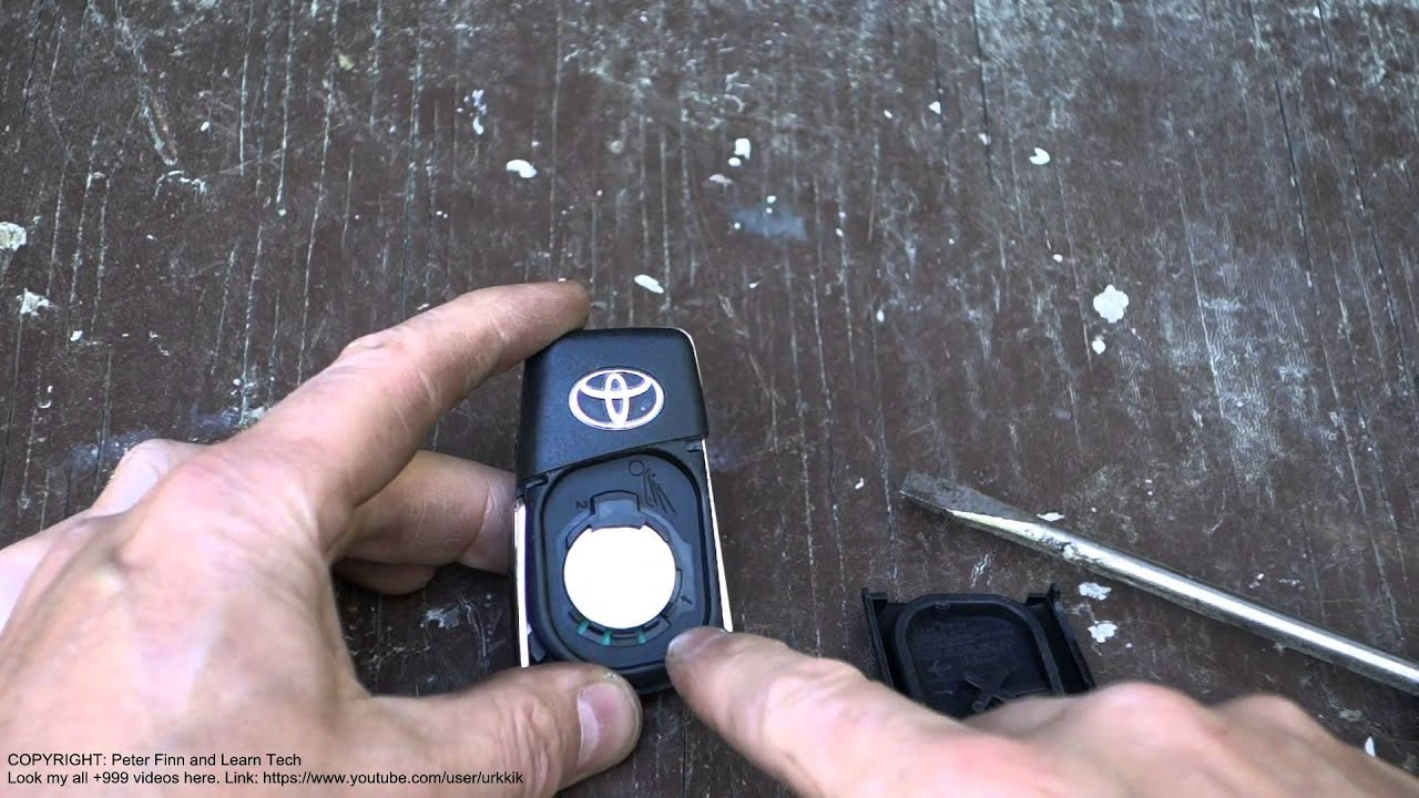 How to change lexus es300 key battery | How to Change 2003 Lexus