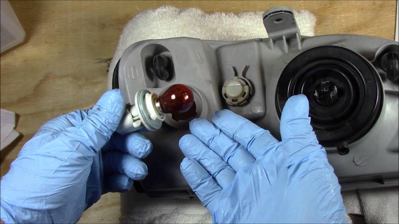 Hyundai Elantra: Front turn signal bulb