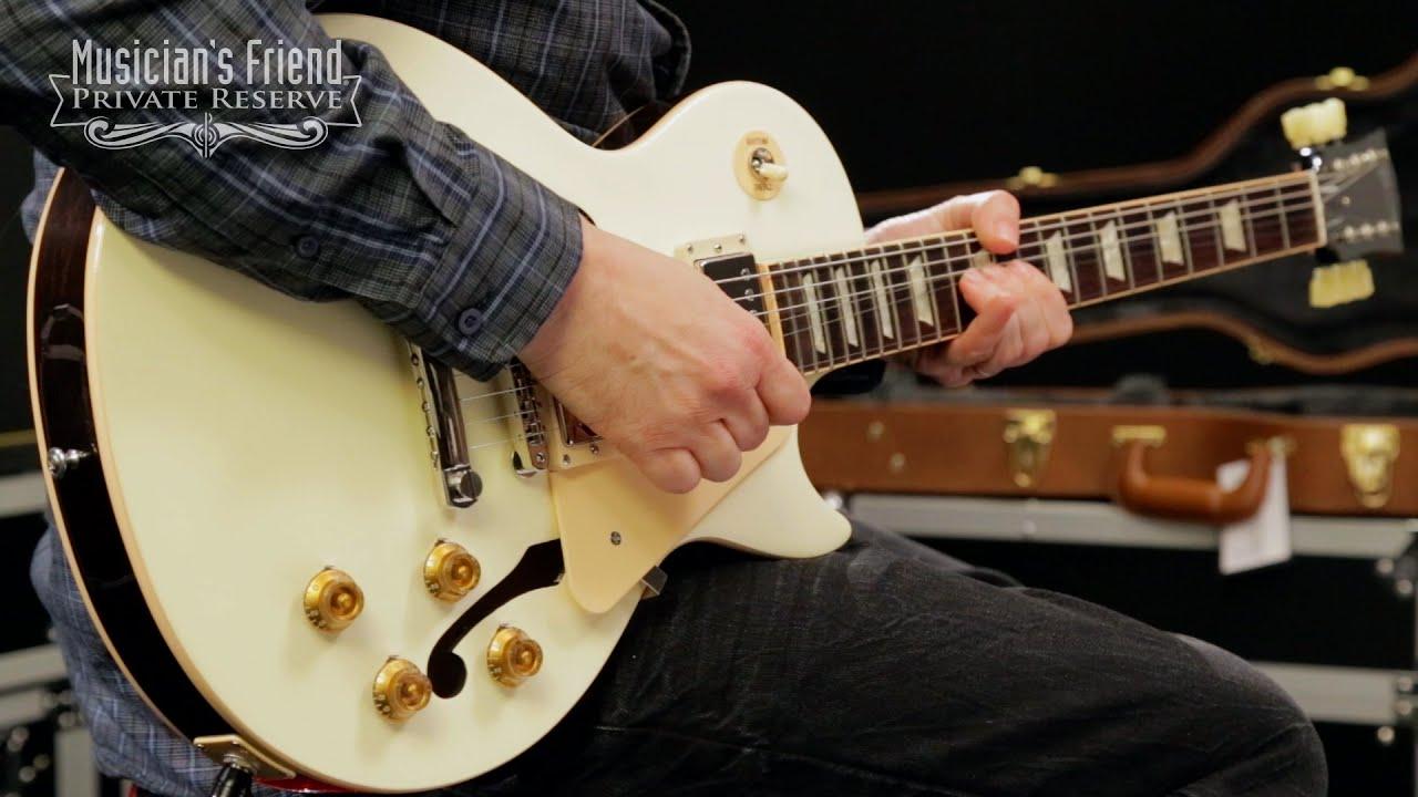 Gibson Les Paul Custom Semi Hollow Warn Xd9000i Solenoid Wiring Diagram 2015 Memphis Limited Run Es White Top