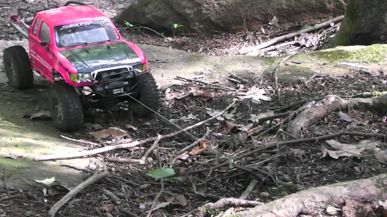 Rc Scale Winching And Vehicle Recovery Youtube