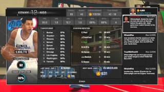 nba 2k15 my park attribute update   showing jumpshot crossovers and dunks   6 7 pg   7 0 sf