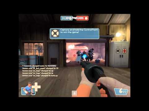 How to get any weapons in tf2 bots or server you are admin
