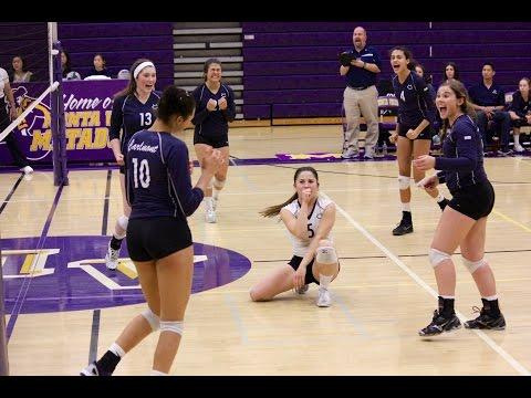 Carlmont High School Varsity Volleyball CCS Quarterfinals
