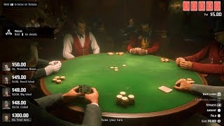 RED DEAD REDEMPTION 2 - HOW TO WIN IN POKER EVERY TIME (Gameplay) (PS4 PRO)
