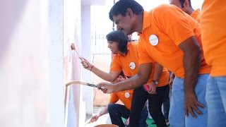 CSR Activity Together with Lahmeyer International India
