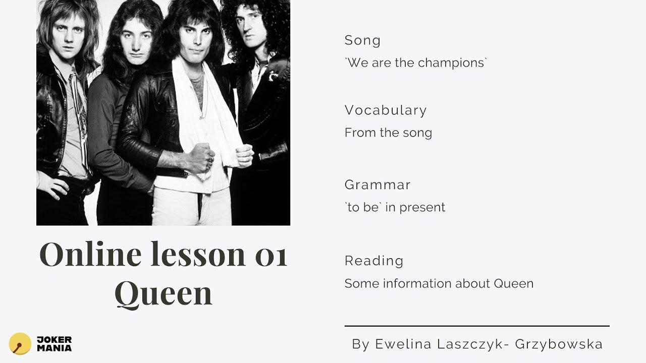 Lekcja online z Queen <3