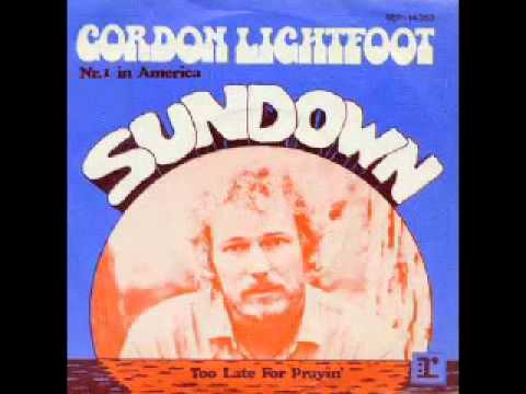 Gordon Lightfoot -Sundown remix by Erik Fox