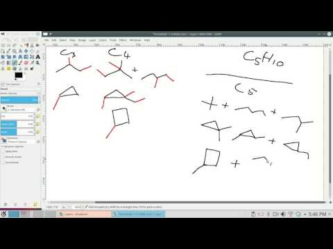 Systematic generation of constitutional isomers #3