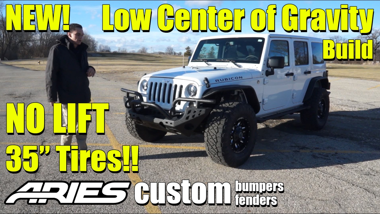 "Jeep Wrangler Tj Build >> NEW! Custom Jeep Wrangler Rubicon! Low Center of Gravity Build!! 35"" Tires with NO LIFT KIT ..."