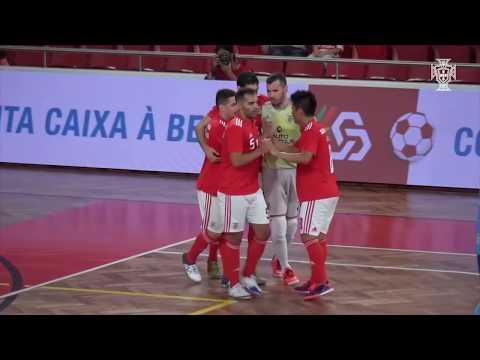 Liga Sportzone, 2.ª jornada: Benfica 6-0 Futsal Azeméis