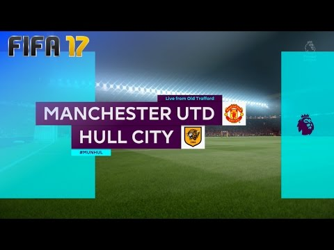 FIFA 17 - Manchester United vs. Hull City @ Old Trafford